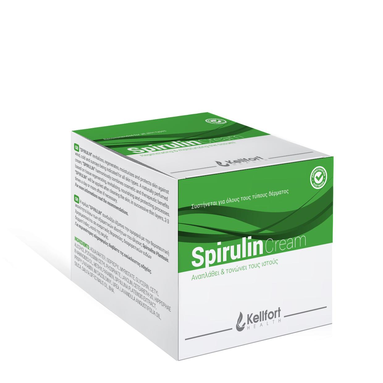 Spirulin cream